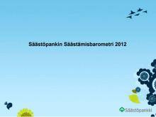 Säästämisbarometrin esitys 2012 kokonaan