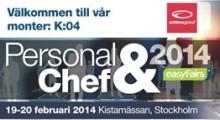 AchieveGlobal föreläser om motiverande coaching på Personal & Chef 2014