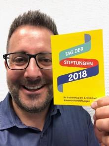 #WasMachenStiftungen - Idee der Felix Burda Stiftung wird Motto des #TagderStiftungen