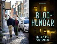 Journalistpar i Malmö deckardebuterar. I boken Blodhundar drabbas staden av terrorbrott.