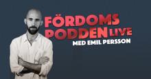 EMIL PERSSON TAR FÖRDOMSPODDEN PÅ TURNÉ