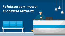 Puhtausklinikka: säännöllinen lattianhoito pidentää lattian käyttöikää