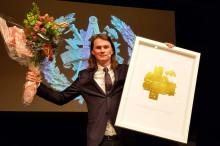 Petter Bengtsson, VD på Zynka BIM,  är vinnare av Guldhuset 2018