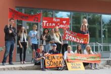 Huddinges näringsliv backar upp Team Sonja