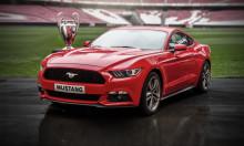 UEFA Champions League  - Finalefest for Mustang entusiaster. Ford åpner for eksklusiv forhåndsbestilling av 500 nye Ford Mustang under finalen.