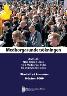SCB:s medborgarundersökning 2009
