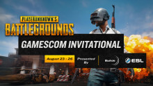 Bluehole and ESL Announce Gamescom Playerunknown's Battlegrounds Invitational