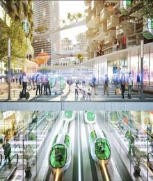 Välkommen till Göteborg 2070 - en framtidsvision från MTR, Skanska, Sweco, Volvo Cars och Volvokoncernen