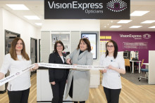 Local MP Christine Jardine joins Vision Express to officially open its new optical store at Tesco in Corstorphine
