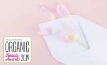 Alla nomineringar klara i Organic Beauty Awards 2019
