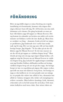 Utrdrag ur Inte bara snack av Lars Erlamn