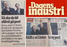 """Dagens Industri: """"Så ska de bli störst på post"""""""