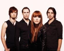 Grammyvinnarna Halestorm till Sverige i höst