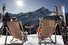 Prisvärd skidåkning i tyska Garmisch