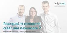 """Launch Belga Club - Afterwork #1: """"Pourquoi et comment AXA a créé une newsroom?"""""""