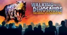 Walking with Dinosaurs till Scandinavium nästa höst