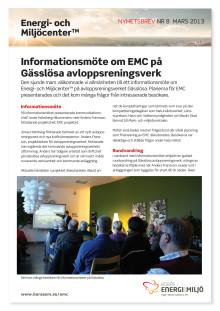 EMC nyhetsbrev nr 8