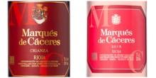 Marqués de Cáceres från Rioja nu med ny design och skruvkapsyl!