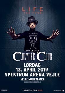 BOY GEORGE & CULTURE CLUB: LIFE TOUR UDSKUDT TIL LØRDAG 13. APRIL 2019