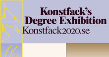 Konstfack's Degree Exhibition opens today – online, at Sergel's torg and in other public spaces