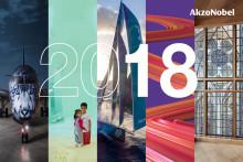 Leidenschaft für Farbe nimmt Ehrenplatz im integrierten Jahresbericht 2018 von AkzoNobel ein