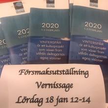 """Lindesbergs Konstförening presenterar """"Försmak av Vinterspår"""""""