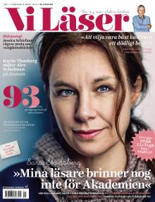Vi Läser nr 1 2017: Sara Stridsbergs omtumlande halvår