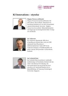 KI Innovations AB – styrelse