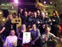 Restaurang Hantverket vinner Gulddraken 2019