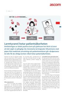 Artikel - Larmtyranni hotar patientsäkerheten
