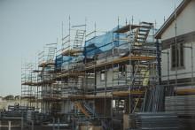 Byggmaterialvärdet minskar efter de tre första kvartalen 2018