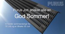 Sommerens viktigste tips med ønske om god sommer fra alle oss i Purus