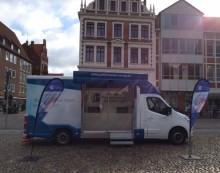 Beratungsmobil der Unabhängigen Patientenberatung kommt am 16. November nach Lüneburg.