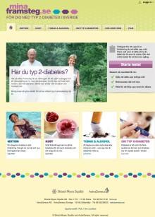 Diabetesalliansen lanserar MinaFramsteg; ny motiverande patientsajt om typ 2-diabetes