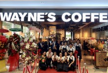 Successful opening for Wayne's Coffee in Vietnam