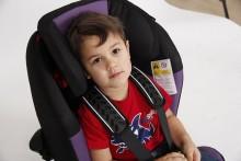 Bakåtvänt är rättvänt – bilbarnstolar räddar liv!