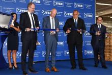 С официална церемония JYSK откри Дистрибуционен Център Божурище