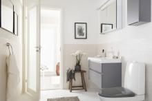 Harmaa on kylpyhuoneen uusi musta