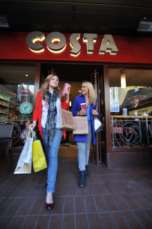 Costa Coffee Wins 'Best Branded Coffee Shop Chain In Europe' For Fourth Consecutive Year