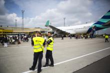Utlandsresandet ökar på Malmö Airport under årets första kvartal