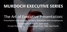 HBM's Mark Laudi to give guest lecture at Murdoch University, Dubai campus
