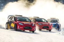 Stort startfält väntar när RallyX On Ice intar Söderhamn