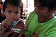 Rising malnutrition in Philippines - Typhoon Bopha