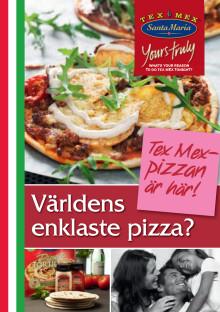 Receptfolder - Santa Maria pizza