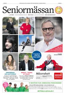 Mässtidning Seniormässan Stockholm
