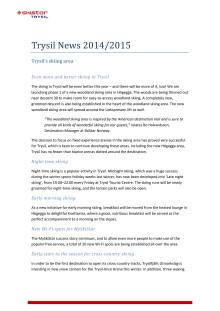 Trysil News 2014/2015