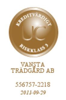 Vansta Trädgård belönas med UC medalj