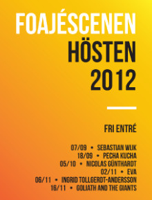 Musik: EVA - på Helsingborgs stadsteaters Foajéscen den 2/11 kl 22.00!