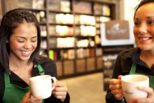Starbucks på Magasinet i Drammen åpner i dag