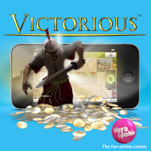 Vera&John player won €73,000 on Victorious Touch